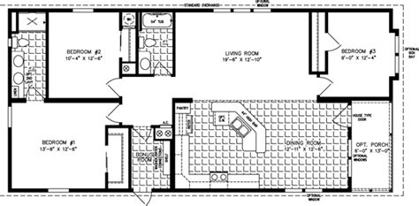 Jacobsen Manufactured Homes Floor Plans by Large Manufactured Homes Large Home Floor Plans