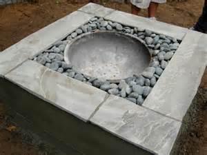 cement pit how to make a concrete pit bigdiyideas