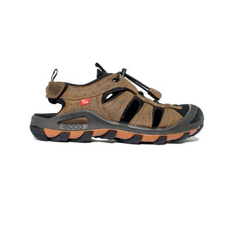 echo sandals lyst ecco cerro sport sandals in brown for