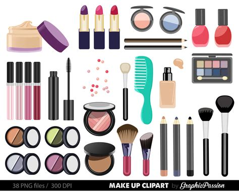 7 Make Up Items For 40 by 7 Makeup Clipart Preview Lipstick Hdclipartall