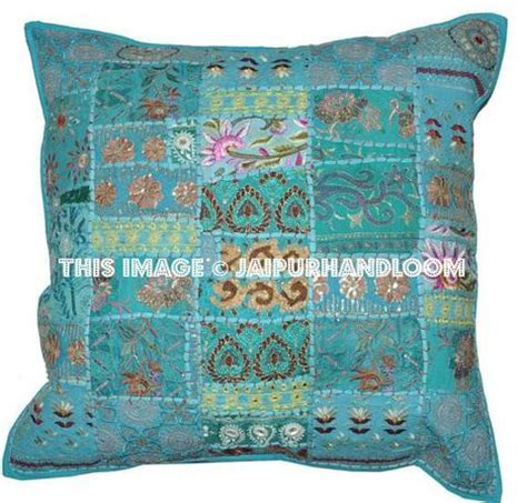 24x24 inch vintage patchwork throw pillows patchwork