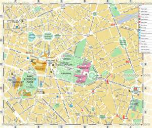 belgium tourist map maps update 12001337 brussels tourist map 14 toprated