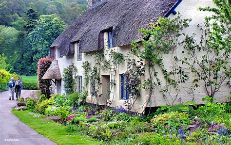 Cottages Uk by The Edge Of Exmoor By Graham Rains At Picturesofengland