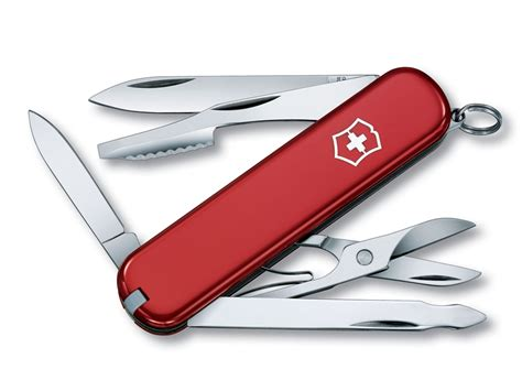swiss army pocket knives victorinox swiss army executive folding pocket knife 10 function ss