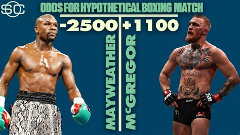 Odds On the odds on conor mcgregor floyd mayweather fight
