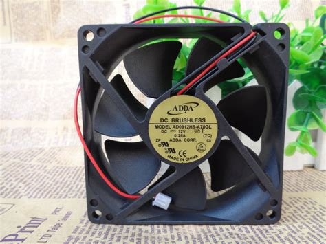 adda dc brushless fan 12v adda 12v dc ultra speed 92x92x25mm brushless fan