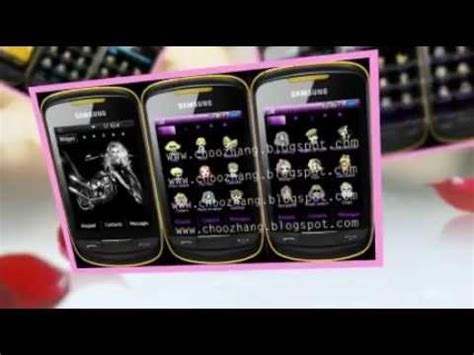 samsung mobile themes gt s3850 lady gaga themes samsung corby 2 free download at