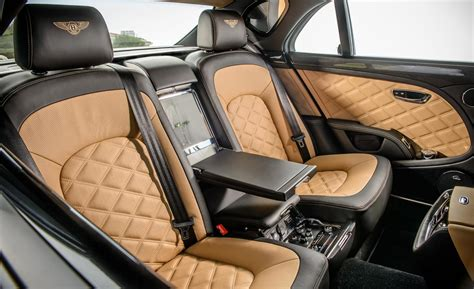 2015 Bentley Mulsanne Interior by Car And Driver