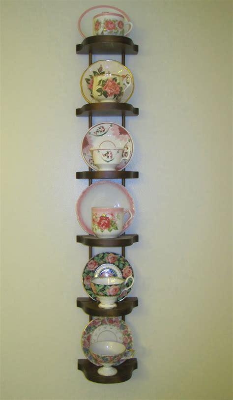 Teacup Display Shelf by Tea With Friends Broken Dreams