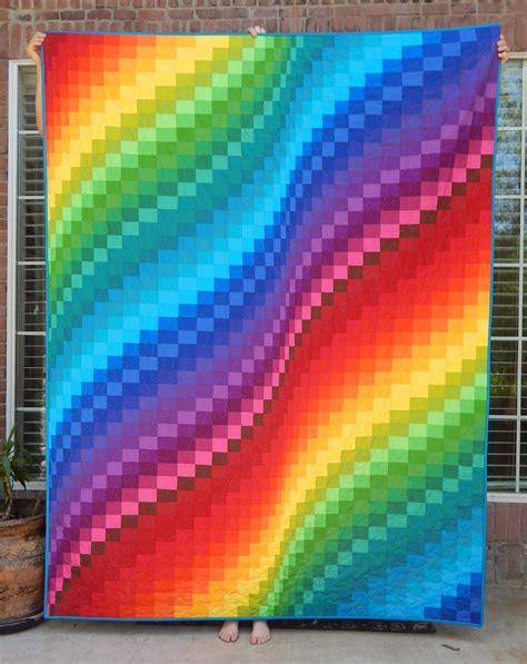 quilt pattern rainbow the fleming s nine blogger s quilt festival rainbow