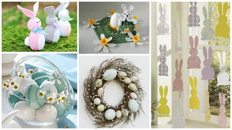 how to make easter decorations for the home 13 impressive diy easter decorations to make at home