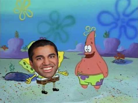 ajit pai in a nutshell spongebob and patrick make fun of ajit pai youtube