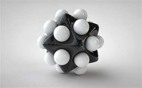 wallpapers  carbon star white balls white