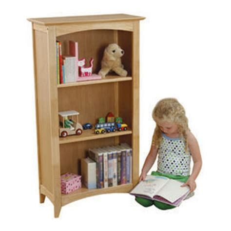 kidkraft 174 avalon 3 shelf bookcase 125729 kid s