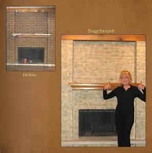 refinishing brick fireplace chicagoland northwest suburbs fireplace brick refinishing