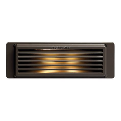 Led Step Lights Outdoor Hinkley Lighting 59024bz Led Brick Landscape Led Step Light Bronze Atg Stores