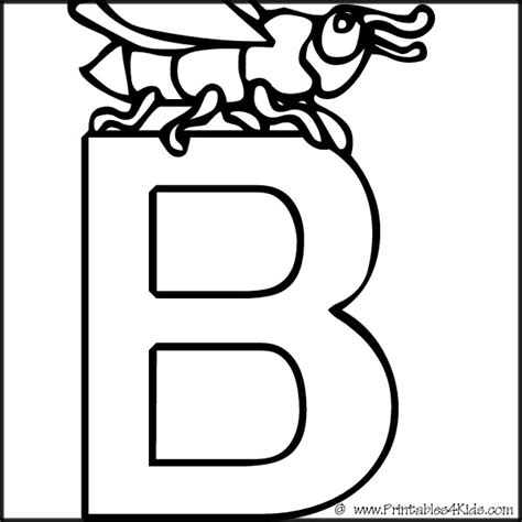 printable alphabet coloring pages for preschoolers free letter b worksheets for kindergarten stage free