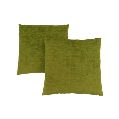 Ez 2 Pillow by Monarch Specialties 18 Quot X 18 Quot Pillow In Lime Green Brushed