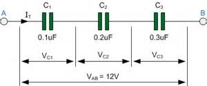 all about electronics and communication connecting capacitors in series