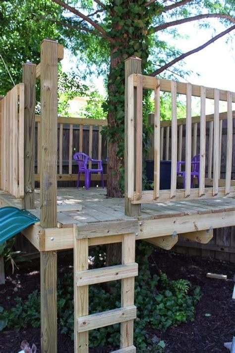 outdoor diy treehouse  creative  refreshing outdoor