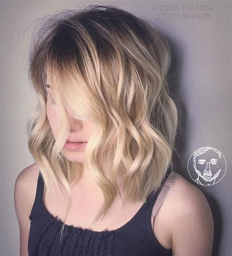 layered medium long length ash brownblonde balayage ombre escaille undercut 2016 on pinterest a selection of the best ideas