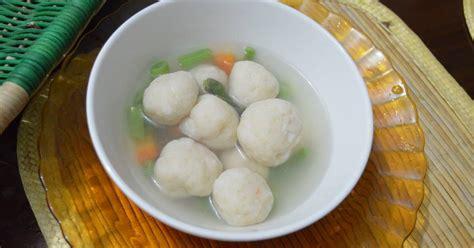Daftar Panci Bakso resep bakso ikan oleh sat rahayuwati cookpad