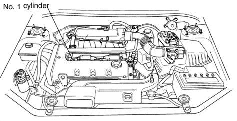 kia spectra engine diagram 2002 kia spectra and engine light came on it has 207 000