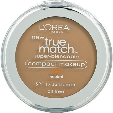 L Oreal True Match Blendable Makeup Spf 17 by True Match Blendable Compact Makeup Spf 17