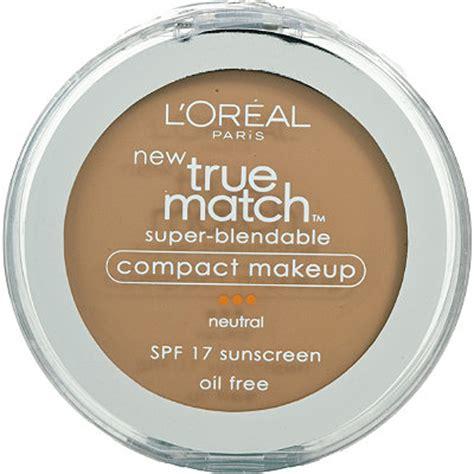 L Oreal True Match Blendable Makeup Spf 17 true match blendable compact makeup spf 17