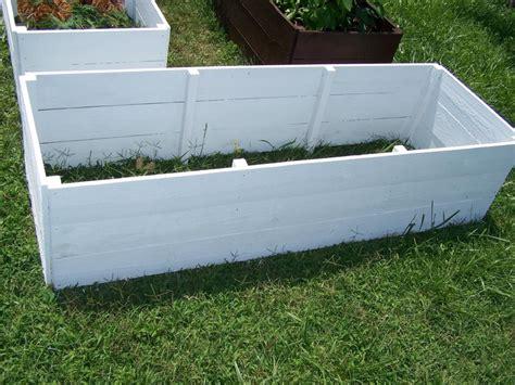white planter box house idea