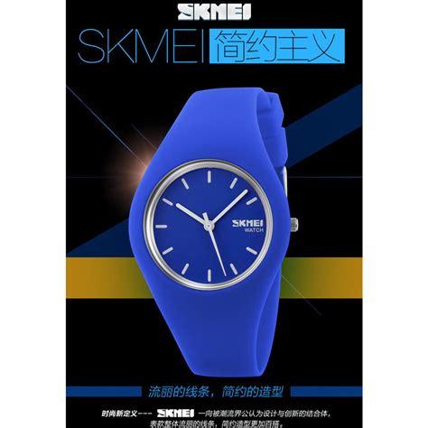 skmei jam tangan analog wanita 9068c black white jakartanotebook