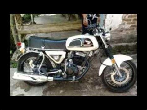 cb 160 modif modifikasi motor terbaru motor honda cb 100 classic style youtube