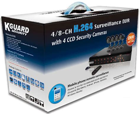 Adaptor Cctv 12v2a By Cctv Vision kguard sha108 v2 h02 8 channel with 4 led combo kit
