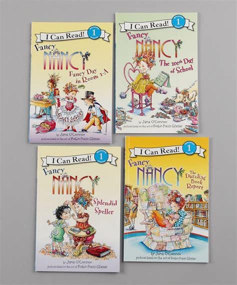fancy nancy the dazzling book report fancy nancy fancy day in room 1 a paperback set