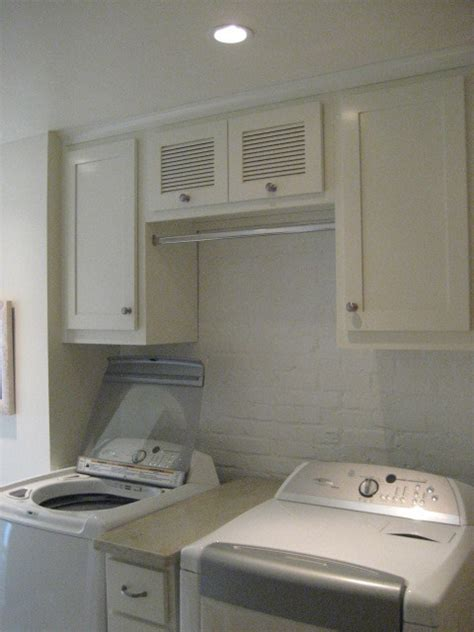 How To Hang Laundry Room Cabinets Laundry Room