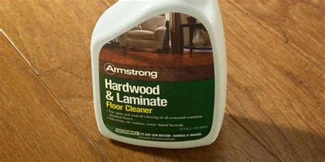 armstrong hardwood floor cleaner review