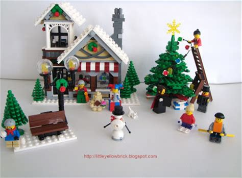 Lego 10199 Winter Shop 815 Pieces yellow brick a lego our lego winter three and counting