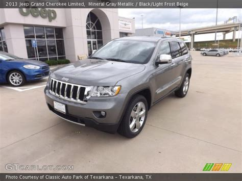 light gray jeep mineral gray metallic 2013 jeep grand cherokee limited
