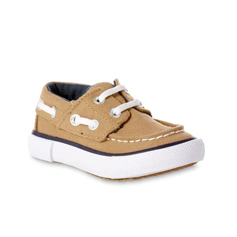 baby boy boat shoes route 66 baby boy s maddox canvas boat shoe