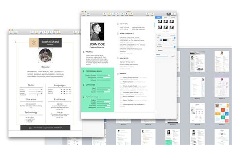 Resume App Store Resume Cv Expert Templates For Pages On The Mac App Store