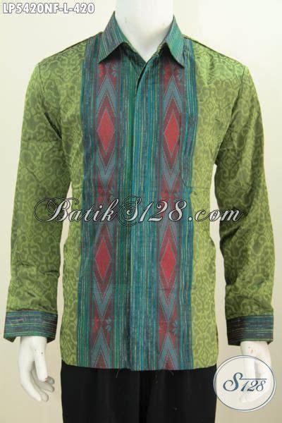 Size Baju Executive baju kemeja tenun lengan panjang furing kwalitas premium produk busana tenun jawa tengah