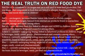 musings for the open minded artificial colors in food products linked to cancer