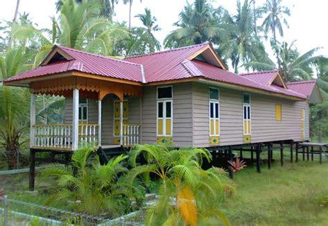 rumah rumah tradisional di malaysia traditional houses on pinterest thai house indonesia