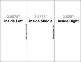 tri fold brochure template indesign cs6 tri fold brochure template setup how to and free