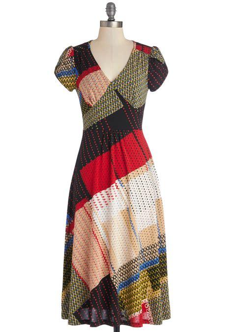 Patchwork Dresses - pretty patchwork dress mod retro vintage dresses