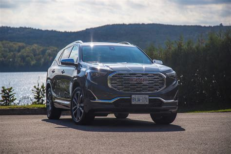 reviews on the gmc terrain drive 2018 gmc terrain canadian auto review