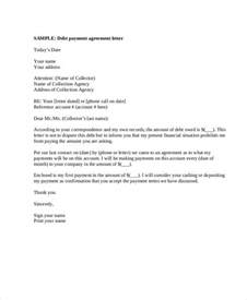 debt payment template payment letter templates 6 free pdf documents