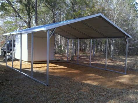 Car Port Frame by 18x21x6 A Frame Carport Boxed Eave Carport With 14