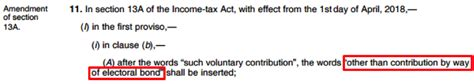 section 13a of income tax act why jaitley s political funding reforms won t end