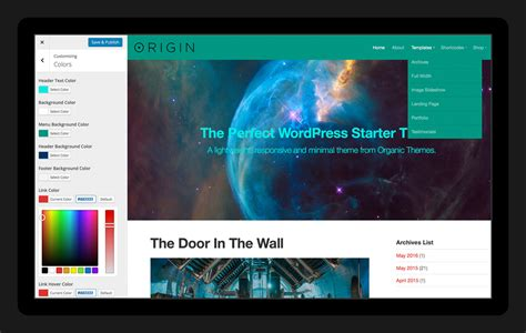 theme wordpress origin origin theme wordpress starter theme for designers